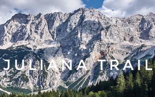 Dnevi Juliane za promocijo nove krožne daljinske poti, 16 etap za 270 km