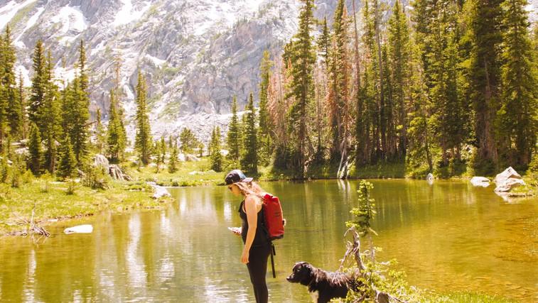 Za vse ženske, ki najdejo svoj navdih v naravi (foto: unsplash)
