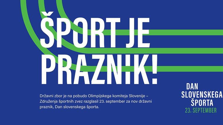 Slovenija dobila nov državni praznik – Dan slovenskega športa! (foto: Promocijski material)