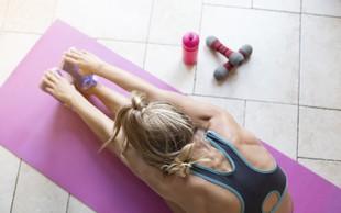 Kako doma vzpostavite vadbeno rutino, če še vedno ne želite hoditi v fitnes