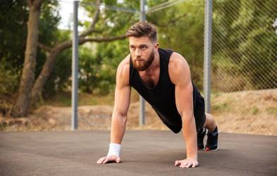 Ena vaja, ki jo potrebujete, da boste gradili mišice in kurili maščobo (Koliko jih naredite v 1 minuti?) (VIDEO)