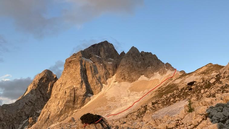 Z Jalovca rešili 68-letno nemško planinko (foto: GRS Bovec)