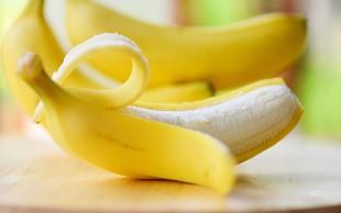 To bi se zgodilo, če bi si privoščili banano z olupkom