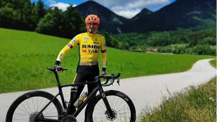 Robert Kranjec se je s kolesom podal na kar 364 kilometrov dolgo pot – z Goričkega v Piran (foto: Instagram Robert Kranjec)