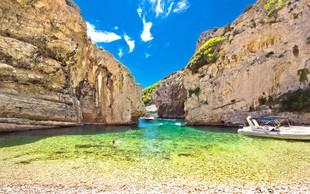 Če bi na Jadranu snemali film Plaža (The Beach), potem bi izbrali tole skrito oazo v Dalmaciji