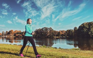 Tritedenski načrt hoje in navajanja na redno gibanje