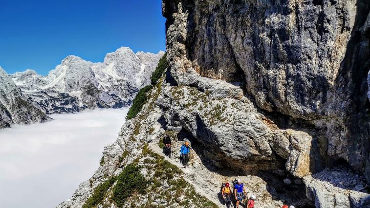 Kako se pripravi na turo in pravilno obnaša v hribih (nasveti strokovnjaka in gorskega reševalca) (foto: Matjaž Šerkezi)