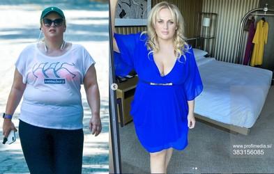Rebel Wilson želi do konca leta tehtati vitkih 75 kilogramov: česa se drži?