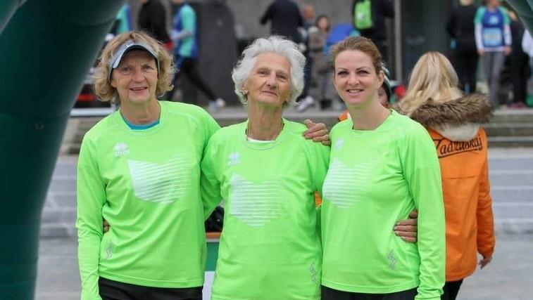 Umrla najbolj znana rekreativna tekačica - Helena Žigon (foto: Foto Vzajemna)