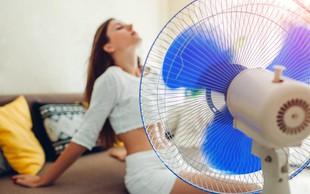 Preprosti triki, kako se ohladiti, če nimate klime
