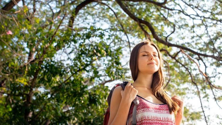 V naravi mirno izkoristite čas za ureditev svojih misli (foto: Profimedia)