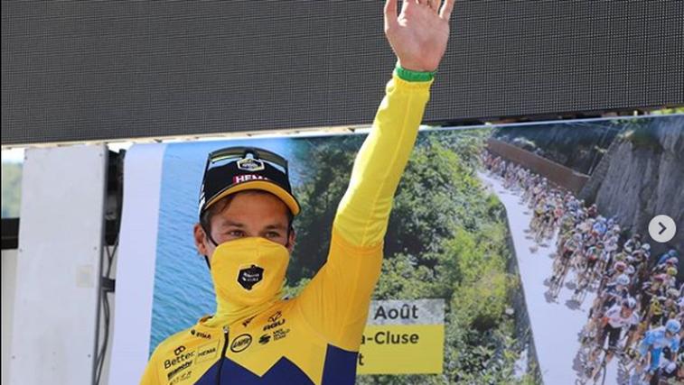 Rogliču etapa in skupna zmaga v Franciji (3 dnevi - 3-krat stopničke in 2-krat etapna zmaga) (foto: Instagram)