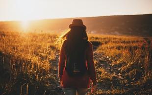 Bistvo je v močni odločitvi, da boš šel za spremembo tudi na konec sveta, če je potrebno
