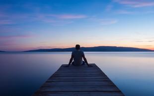 Včasih moramo biti sami, da lažje razumemo življenje