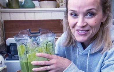 Recept za zeleni smoothie, ki si ga Reese Witherspoon privošči vsak dan. Že 9 let!