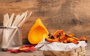 Recept: Bučni pomfrit za slani prigrizek in bučne testenine