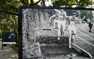 V Tivoliju fotografska razstava: 100 let Atletske zveze Slovenije. Kliknite na našo galerijo!