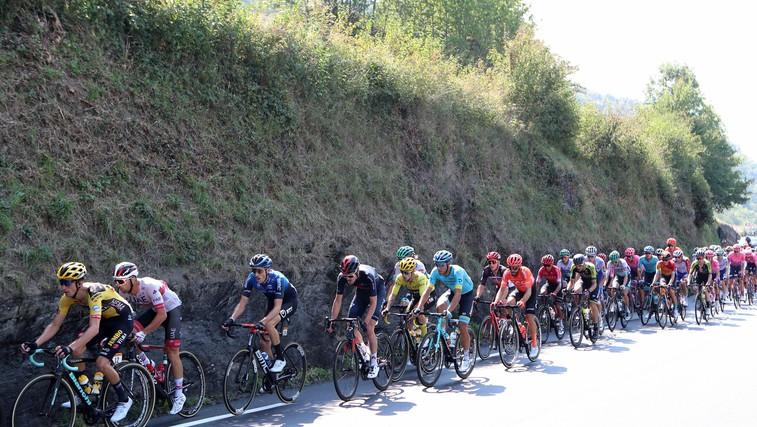 Marko Džalo (maser v kolesarski ekipi Ineos) razkrije smešni prigodi s tekmovanj (foto: Profimedia)