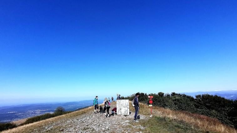 Lep, lahek vzpon - Vremščica (1027 metrov) - najvišja gora v prostranih Senožeških hribih (foto: DDD)