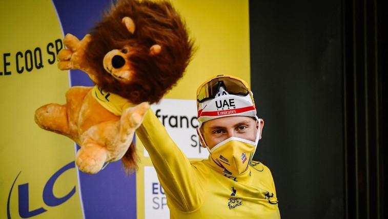 Pogačar na Touru zaslužil več kot pol milijona evrov (foto: profimedia)