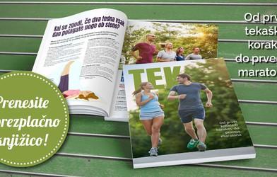 Za vse ljubitelje teka: prenesite si brezplačno knjižico z nasveti, vadbami in recepti za tekače!
