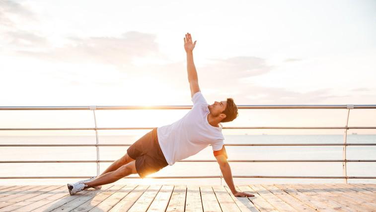 Kako joga lahko pomaga tekaču? (foto: profimedia)