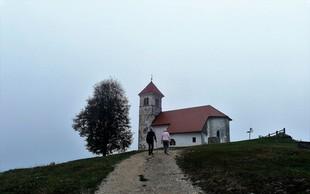 Popoldanski skok na hrib: sveta Ana pri Podpeči (484 metrov)