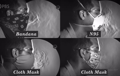 Ta posnetek prikazuje, ali zaščitne maske v resnici pomagajo ustaviti širjenje koronavirusa