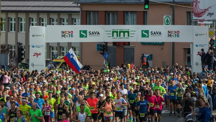 Novomeški 1/2 maraton za naslove prvakov (foto: Promocijsko gradivo (novomeški 1/2 maraton))