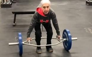 VIDEO: Spoznajte superfit Lauren Bruzzone – pri 73 letih trenira vsak dan, tako dviguje uteži …
