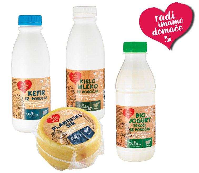 mlečni izdelki