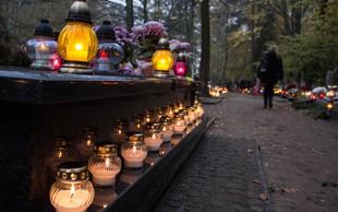 V spomin mrtvim lahko letos prižgete virtualne sveče