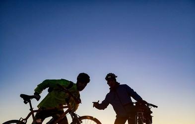 S kolesom z Goričkega v Piran v enem dnevu? Temu znanemu Slovencu je uspelo!