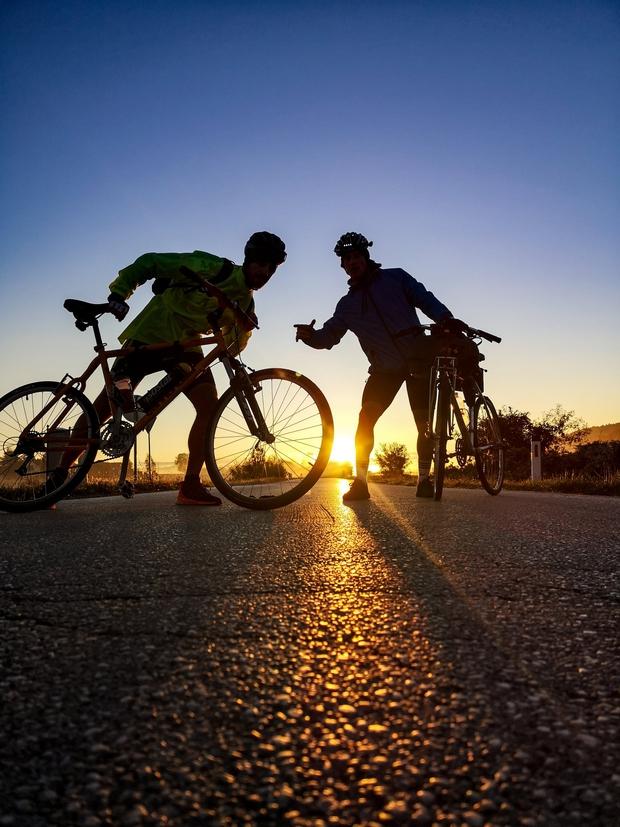 S kolesom z Goričkega v Piran v enem dnevu? Temu znanemu Slovencu je uspelo! (foto: Promocijsko gradivo)
