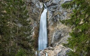 Izlet na Gorenjsko: gozd Martuljek v jesenskih barvah in Martuljški slapovi