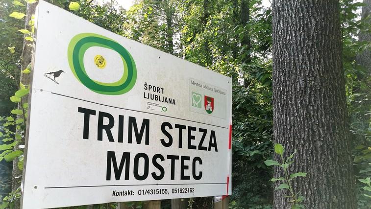 Preverili smo TRIM STEZE v Ljubljani: Odlične za kombinacijo hoje ali teka ter vaj za moč (foto: DDD)