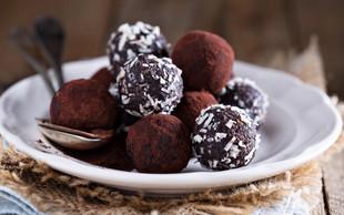 Recept: brownie kroglice (brez pečenja in glutena, veganske)