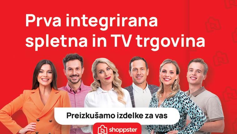 Tukaj je Shoppster – prva spletna in televizijska trgovina v Sloveniji! (foto: Promocijsko gradivo (Shoppster))