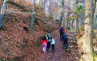 Kam na hiter tek, sprehod ali na kolo: Klobuk pri Ljubljani