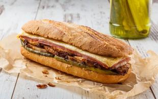 """Najbolj priljubljen sendvič v ZDA - slastni """"kubanec"""". Razvajajte otroke med šolo na domu"""