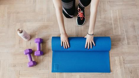 Tako preprosto si postavite fitnes doma!