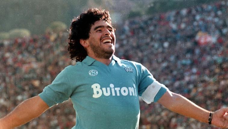 Umrl je bog nogometa in navijačev - Diego Armando Maradona (foto: profimedia)