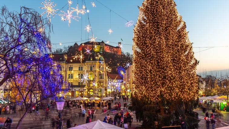 Praznični december v Ljubljani letos nekoliko drugačen (foto: profimedia)