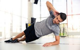 5 vaj za trebušne mišice, ki jih lahko naredite doma (brez pripomočkov)