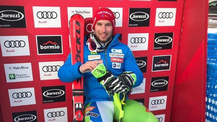 Martin Čater - noro, bravo - zmagal smuk v Val d'Iseru! (foto: Instagram)