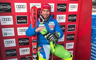 Martin Čater - noro, bravo - zmagal smuk v Val d'Iseru!