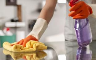 Hitro in učinkovito razkužite površine in se zaščitite pred okužbo