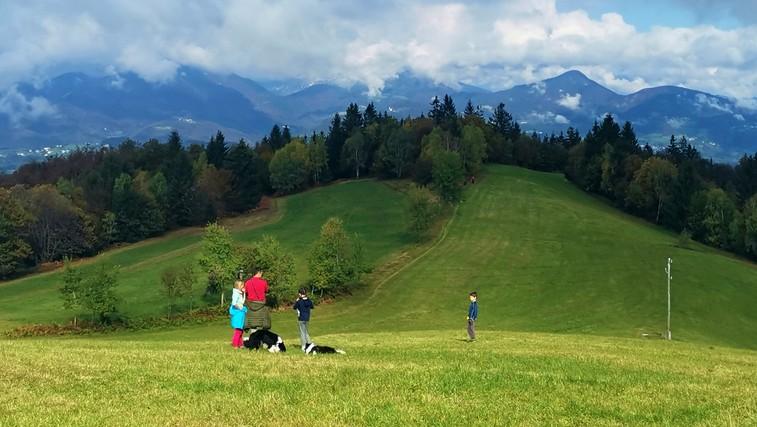 Prijeten vzpon na Sivko - tudi za otroke in manj pripravljene pohodnike (foto: DDD)