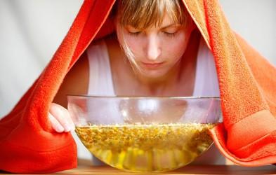 Domača parna inhalacija z morsko soljo, ki čisti nos, dihala in sinuse!