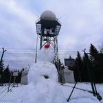 Pasja ravan -  hrib z ravnim vrhom (kjer je še vedno sneg) (foto: DDD)